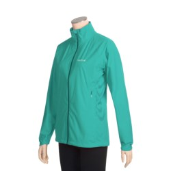 Marmot Paceline Jacket - Waterproof (For Women) in Ceramic Blue