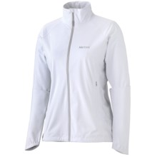 Marmot Paceline Jacket - Waterproof (For Women) in White - Closeouts