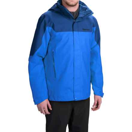 Marmot Palisades Gore-Tex® Jacket - Waterproof (For Men) in Cobalt Blue/Blue Night - Closeouts