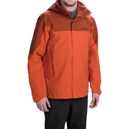 Marmot Palisades Gore-Tex® Jacket - Waterproof (For Men) in Orange Haze/Dark Rust - Closeouts