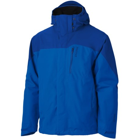 Marmot Palisades Gore-Tex® Performance Shell Jacket - Waterproof (For Men) in Cobalt Blue/Dark Azure
