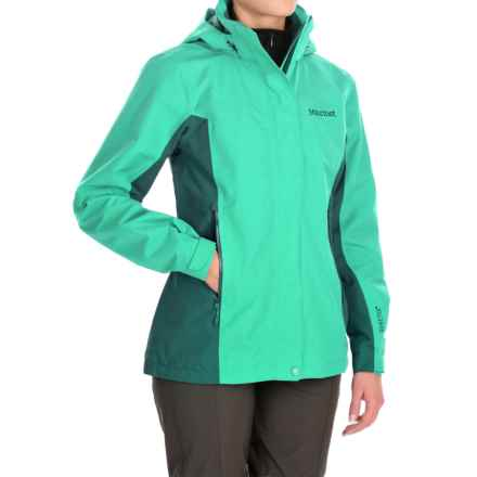 Marmot Palisades Gore-Tex® Performance Shell Jacket - Waterproof (For Women) in Celtic/Deep Teal - Closeouts