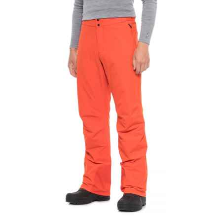 Marmot Paragon Ski Pants - Waterproof, Insulated (For Men) in Mars Orange - Closeouts