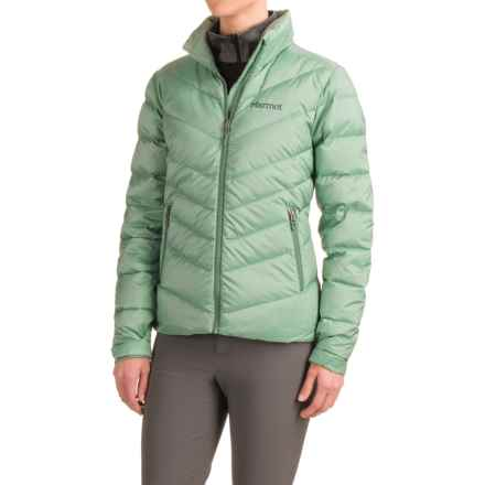 Marmot Pinecrest Jacket - Insulated, 600 Fill Power (For Women) in Spanish Moss - Closeouts
