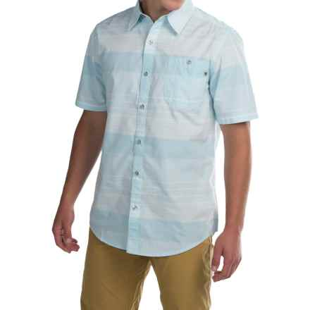 Marmot Pismo Shirt - UPF 20, Short Sleeve (For Men) in Air Blue - Closeouts