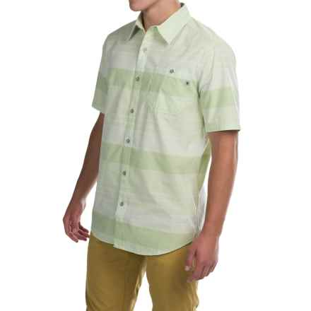 Marmot Pismo Shirt - UPF 20, Short Sleeve (For Men) in Sanded Green - Closeouts