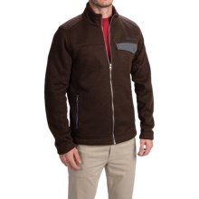 Marmot Poacher Pile Jacket - Full Zip (For Men) in Rich Brown Heather - Closeouts