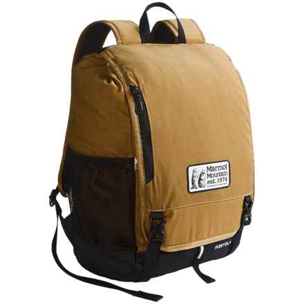 Marmot Portola Backpack in Waxed Field Brown - Closeouts