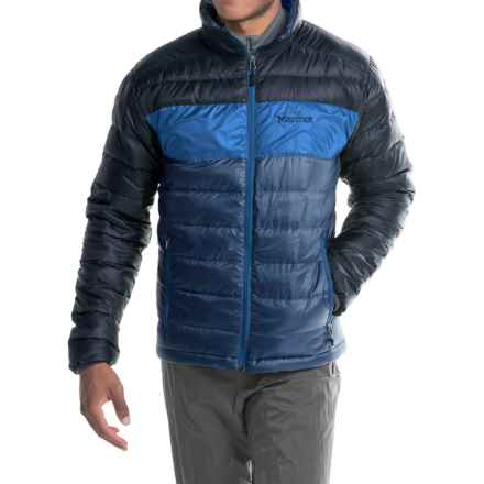 Marmot Portsmith Down Jacket - 600 Fill Power (For Men) in Blue Night/Dark Ink - Closeouts