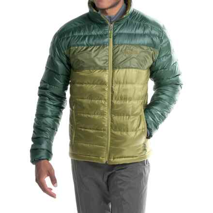 Marmot Portsmith Down Jacket - 600 Fill Power (For Men) in Moss/Midnight Forest - Closeouts