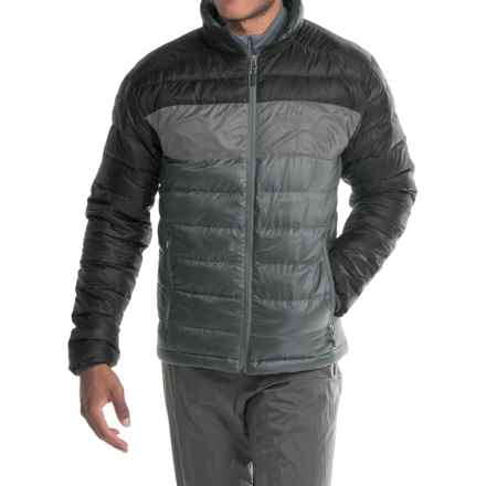 Marmot Portsmith Down Jacket - 600 Fill Power (For Men) in Slate Grey/Black - Closeouts
