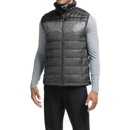 Marmot Portsmith Down Vest - 600 Fill Power (For Men) in Slate Grey/Black - Closeouts