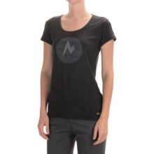 Marmot Post Time T-Shirt - UPF 30, Short Sleeve (For Women) in Black - Closeouts
