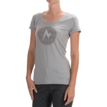Marmot Post Time T-Shirt - UPF 30, Short Sleeve (For Women) in Steel Heather - Closeouts