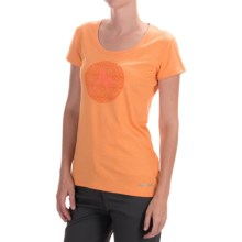 Marmot Post Time T-Shirt - UPF 30, Short Sleeve (For Women) in Sweet Orange Heather - Closeouts