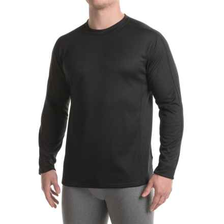 Marmot Power Dry® Midweight Base Layer Top - Crew Neck, Long Sleeve (For Men) in Black - Closeouts