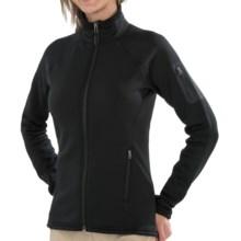 Marmot Power Stretch Jacket - Polartec® Power Stretch® (For Women) in Black - Closeouts