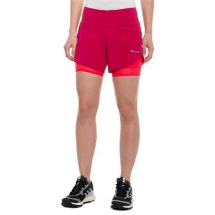 995c6bd6f175 Marmot PR Shorts - UPF 30, Liner Shorts (For Women) in Sangria -