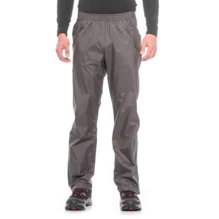 Marmot PreCip® Full-Zip Pants - Waterproof (For Men) in Slate Grey - Closeouts