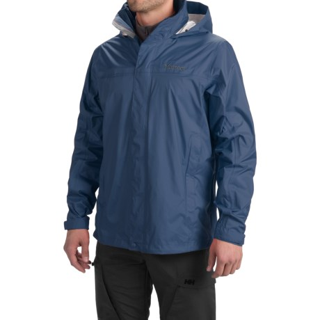 Marmot PreCip® Jacket - Waterproof (For Men) in Arctic Navy