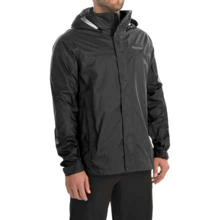 Marmot PreCip® Jacket - Waterproof (For Men) in Black - Closeouts