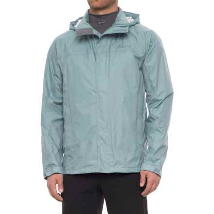 Marmot PreCip® Jacket - Waterproof (For Men) in Blue Granite - Closeouts