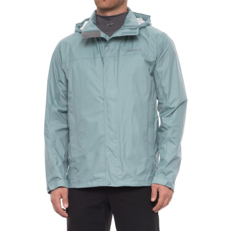 Marmot PreCip® Jacket - Waterproof (For Men) in Blue Granite
