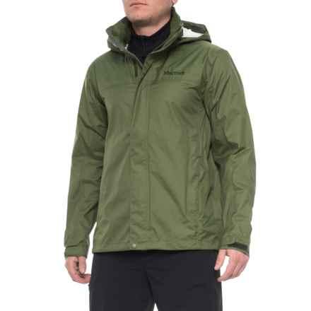 Marmot PreCip® Jacket - Waterproof (For Men) in Bomber Green - Closeouts