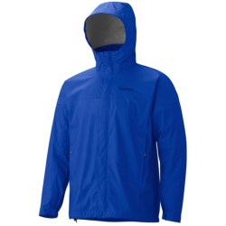 Marmot PreCip® Jacket - Waterproof (For Men) in Navy