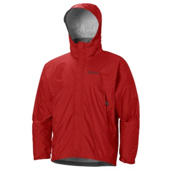 Marmot PreCip® Jacket - Waterproof (For Men) in Cardinal