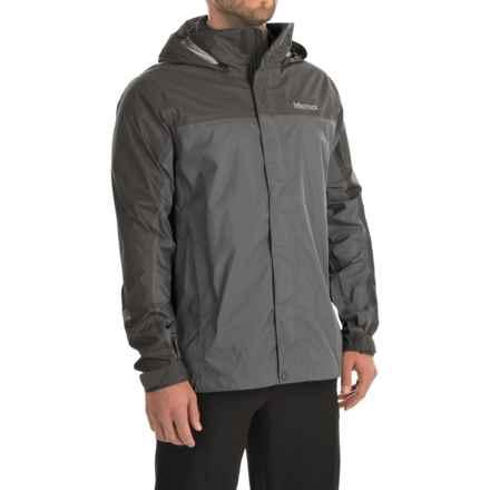 Marmot PreCip® Jacket - Waterproof (For Men) in Cinder/Slate Grey - Closeouts