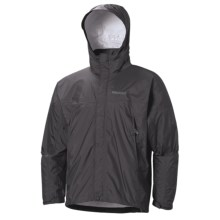 Marmot PreCip® Jacket - Waterproof (For Men) in Dark Charcoal - Closeouts