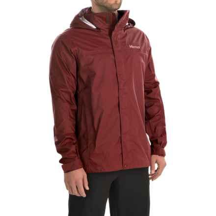 Marmot PreCip® Jacket - Waterproof (For Men) in Dark Crimson - Closeouts