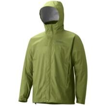 Marmot PreCip® Jacket - Waterproof (For Men) in Forest - Closeouts