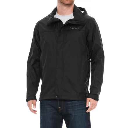 Marmot PreCip® Jacket - Waterproof (For Men) in Obsidian - Closeouts