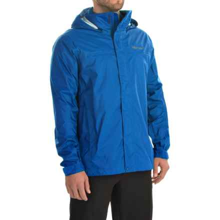 Marmot PreCip® Jacket - Waterproof (For Men) in Peak Blue - Closeouts