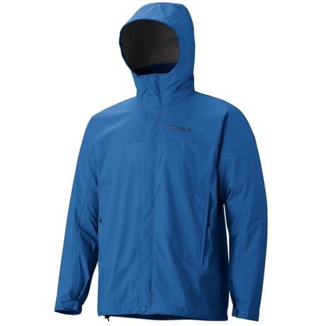 Marmot PreCip® Jacket - Waterproof (For Men) in Peak Blue