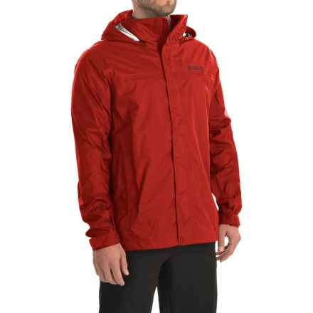 Marmot PreCip® Jacket - Waterproof (For Men) in Rocket Red - Closeouts