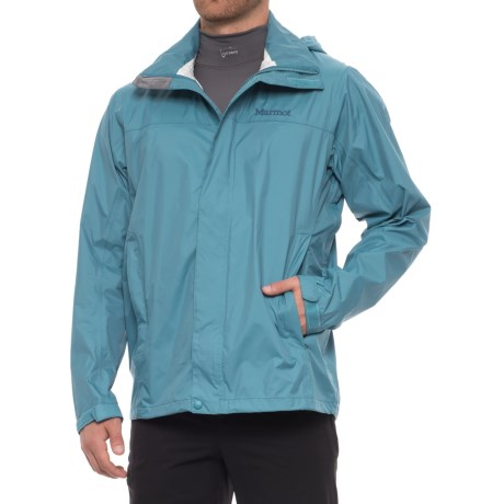 Marmot PreCip® Jacket - Waterproof (For Men) in Slate Blue