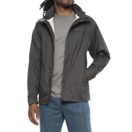 Marmot PreCip® Jacket - Waterproof (For Men) in Slate Grey - Closeouts