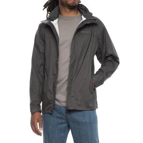 Marmot PreCip® Jacket - Waterproof (For Men) in Slate Grey