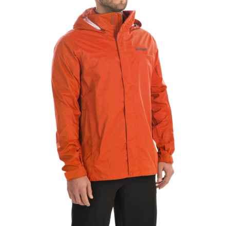 Marmot PreCip® Jacket - Waterproof (For Men) in Sunset Orange - Closeouts