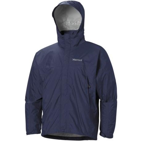 Marmot PreCip® Jacket - Waterproof (For Men) in Black