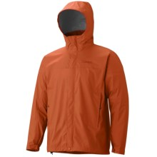 Marmot PreCip® Jacket - Waterproof (For Men) in Warm Spice - Closeouts