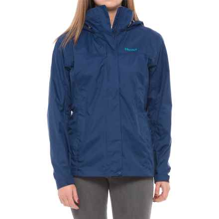 Marmot PreCip® Jacket - Waterproof (For Women) in Artic Navy - Closeouts