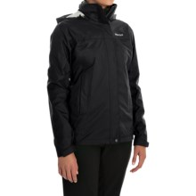 Marmot PreCip® Jacket - Waterproof (For Women) in Black - Closeouts
