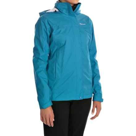 Marmot PreCip® Jacket - Waterproof (For Women) in Blue Sea - Closeouts