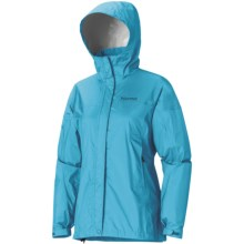 Marmot PreCip® Jacket - Waterproof (For Women) in Breeze Blue - Closeouts