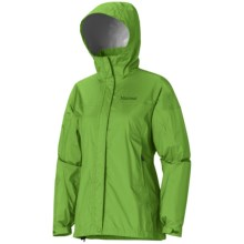 Marmot PreCip® Jacket - Waterproof (For Women) in Bright Grass - Closeouts