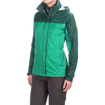 Marmot PreCip® Jacket - Waterproof (For Women) in Celtic/Deep Teal - Closeouts
